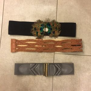 Belts, all from Urban Outfitters